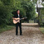 Joe Lara and his guitar
